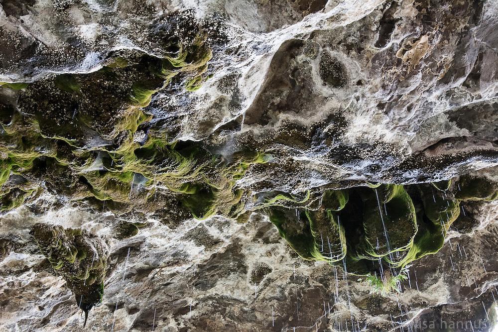 The rock overhang at the St. Neakutoleab Monastery, Lalibela, Ethiopia.