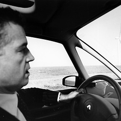 Bertrand Pancher se preoccupe de gouvernance dans le cadre du grenelle de l'environnement. Il n'apprecie guere les 93 eoliennes installees en meuse... sur 250 prevues...Octobre 2007..Photo : Antoine Doyen
