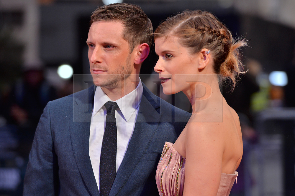 © Licensed to London News Pictures. 11/10/2017. London, UK. JAMIE BELl and wife KATE MARA attend the European film premiere of Stars Don't Die In Liverpool showing as part of the 51st BFI London Film Festival. Photo credit: Ray Tang/LNP