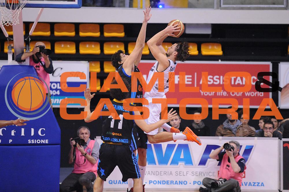 DESCRIZIONE : Biella LNP DNA Adecco Gold 2013-14 Angelico Biella Upea Capo D&rsquo;Orlando<br /> GIOCATORE : Tommaso Raspino<br /> CATEGORIA : Tiro Controcampo<br /> SQUADRA : Angelico Biella<br /> EVENTO : Campionato LNP DNA Adecco Gold 2013-14<br /> GARA : Angelico Biella Upea Capo D&rsquo;Orlando<br /> DATA : 19/01/2014<br /> SPORT : Pallacanestro<br /> AUTORE : Agenzia Ciamillo-Castoria/Max.Ceretti<br /> Galleria : LNP DNA Adecco Gold 2013-2014<br /> Fotonotizia : Biella LNP DNA Adecco Gold 2013-14 Angelico Biella Upea Capo D&rsquo;Orlando<br /> Predefinita :