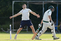 Adrian Jarvis of Bristol Rugby during an exhibition cricket game with Bishopston Cricket Club - Photo mandatory by-line: Dougie Allward/JMP - Mobile: 07966 386802 - 29/07/2015 - SPORT - Cricket - Bristol - Westbury Fields - Bishopston CC v Bristol Rugby - Exhibition Game