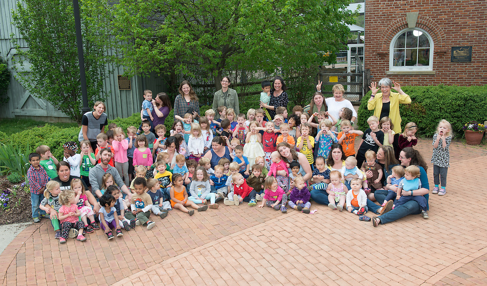 Child Development Center Group Portrait. © Ohio University / Photo by Ben Siegel