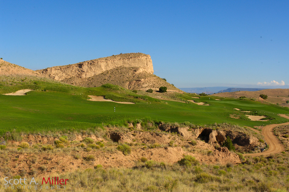 Espanola, N.M.:  July 10, 2006 -  No. 7 on Black Mesa Golf Club in Espanola, N.M...                ©2006 Scott A. Miller