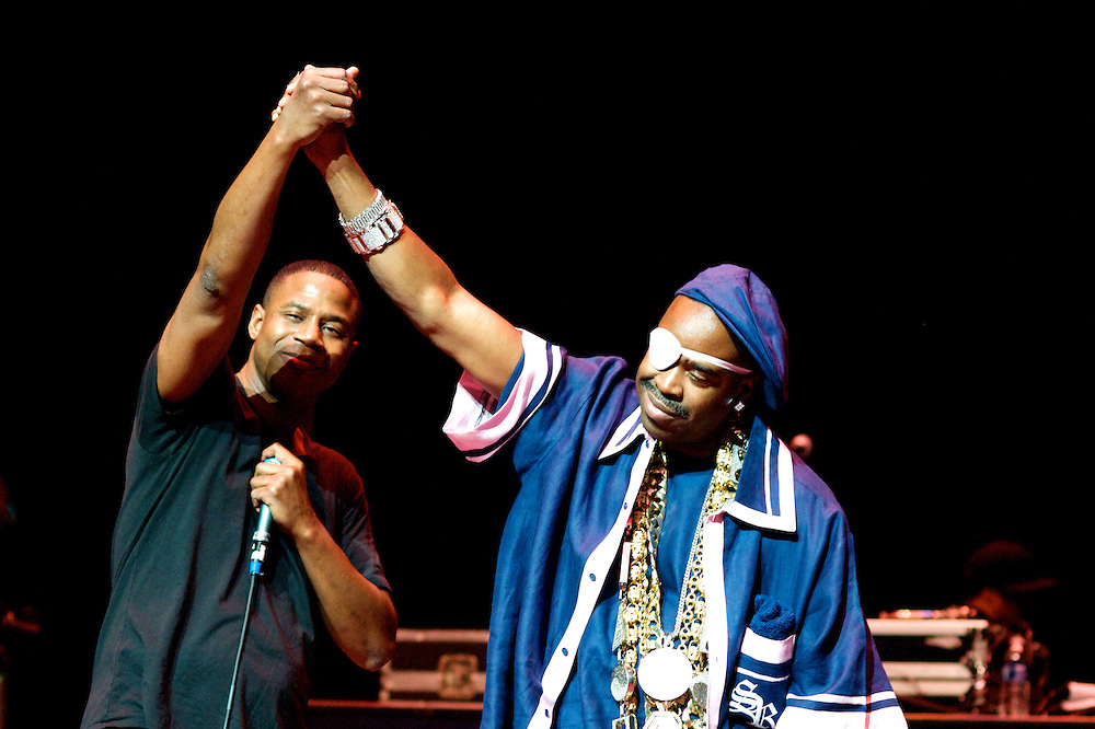 Doug E. Fresh and Slick Rick perform at the Arie Crown Theater, March 19, 2011