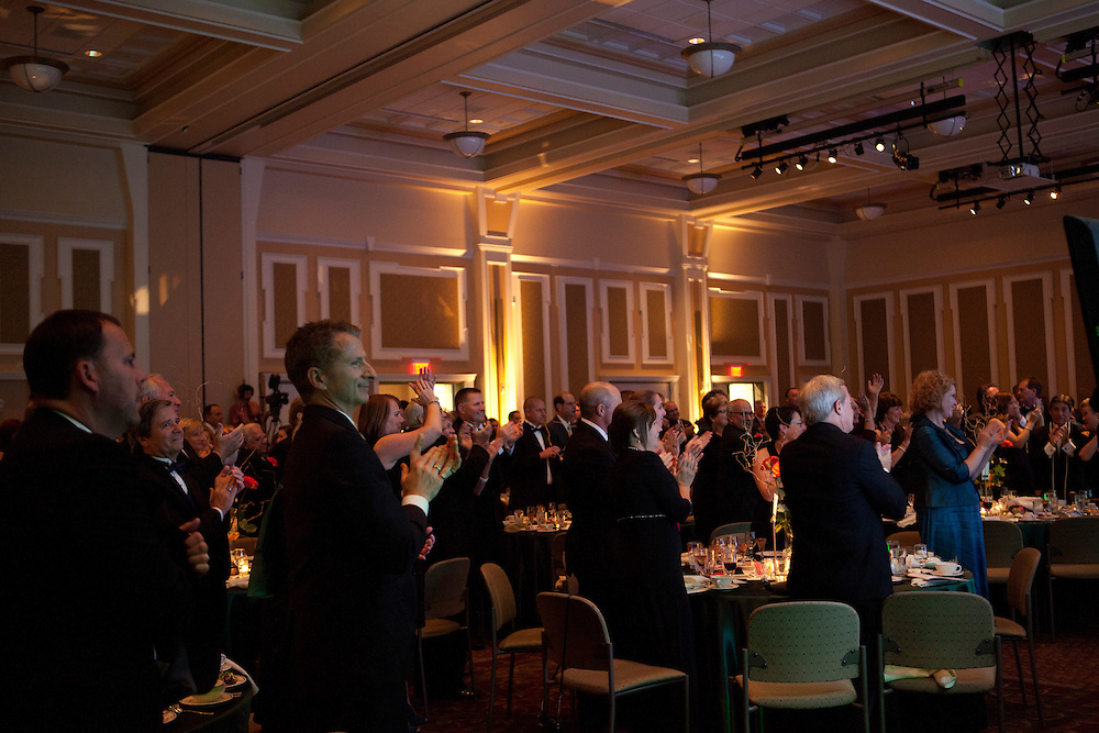 Ohio University Alumni Association's Annual Awards Gala at Baker University Center on October 11, 2013.