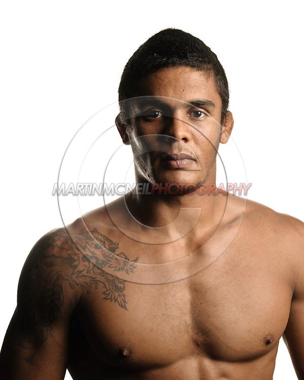 A portrait of mixed martial arts athlete Carlos Eduardo Rocha