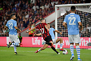 Jack Stacey (17) of AFC Bournemouth scores a goal during the Pre-Season Friendly match between Bournemouth and SS Lazio at the Vitality Stadium, Bournemouth, England on 2 August 2019.