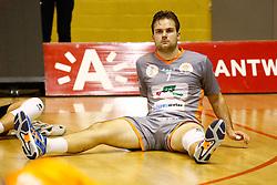 20141029 BEL: Eredivisie, Callant Antwerpen - Volley Behappy2 Asse - Lennik: Antwerpen<br />Dirk Sparidans (7) of Volley behappy2 Asse - Lennik<br />©2014-FotoHoogendoorn.nl / Pim Waslander