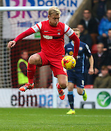 Josh Wright of Leyton Orient after the Sky Bet League 1 match at the Matchroom Stadium, London<br /> Picture by David Horn/Focus Images Ltd +44 7545 970036<br /> 22/11/2014