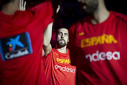September 17, 2018 - Madrid, Spain - Pablo Aguilar of Spain during the FIBA Basketball World Cup Qualifier match Spain against Latvia at Wizink Center in Madrid, Spain. September 17, 2018. (Credit Image: © Coolmedia/NurPhoto/ZUMA Press)