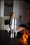 ANAIS GALLAGHER,  White By Agadir -  launch party <br /> to promote the Moroccan resort of Agadir , Il Bottaccio, 9 Grosvenor Place, London, 4 November 2014