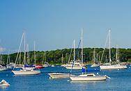 Boats Dering Harbor, Shelter Island, , NY