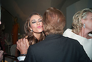 ELIZABETH HURLEY; VALENTINO, Valentino: Master of Couture - private view. Somerset House, London. 28 November 2012
