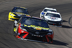 March 11, 2018 - Avondale, Arizona, United States of America - March 11, 2018 - Avondale, Arizona, USA: Martin Truex, Jr (78) brings his car through the turns during the Ticket Guardian 500(k) at ISM Raceway in Avondale, Arizona. (Credit Image: © Chris Owens Asp Inc/ASP via ZUMA Wire)