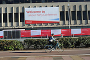 Labour Party Annual Conference<br /> Brighton<br /> 27-30 September<br /> Front of the Brighton Centre conference hall.
