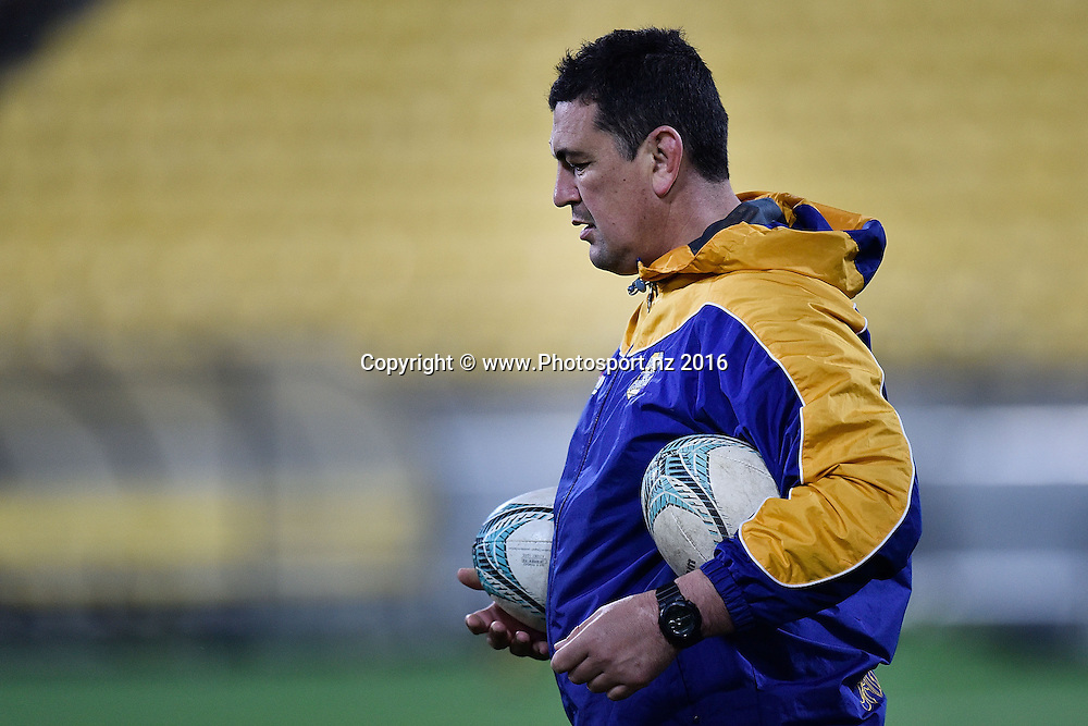 Bay of Plenty's head coach Clayton McMillan during the Mitre 10 Cup - Wellington vs Bay of Plenty rugby match at Westpac Stadium on Friday the 16th of September 2016. Copyright Photo by Marty Melville / www.Photosport.nz