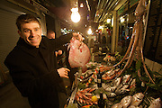Istanbul. Fish restaurant.