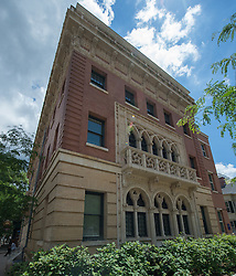 Stoeckel Hall at Yale School of Music. Exterior, West Elevation