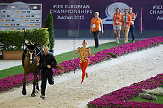 Female final vaulting Aachen 2015