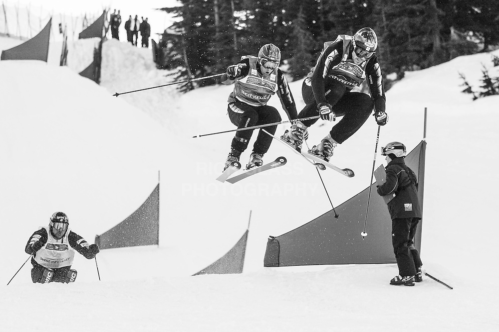 World Cup Skier Cross at Cypress Mountain home of the upcoming winter games in 2010.