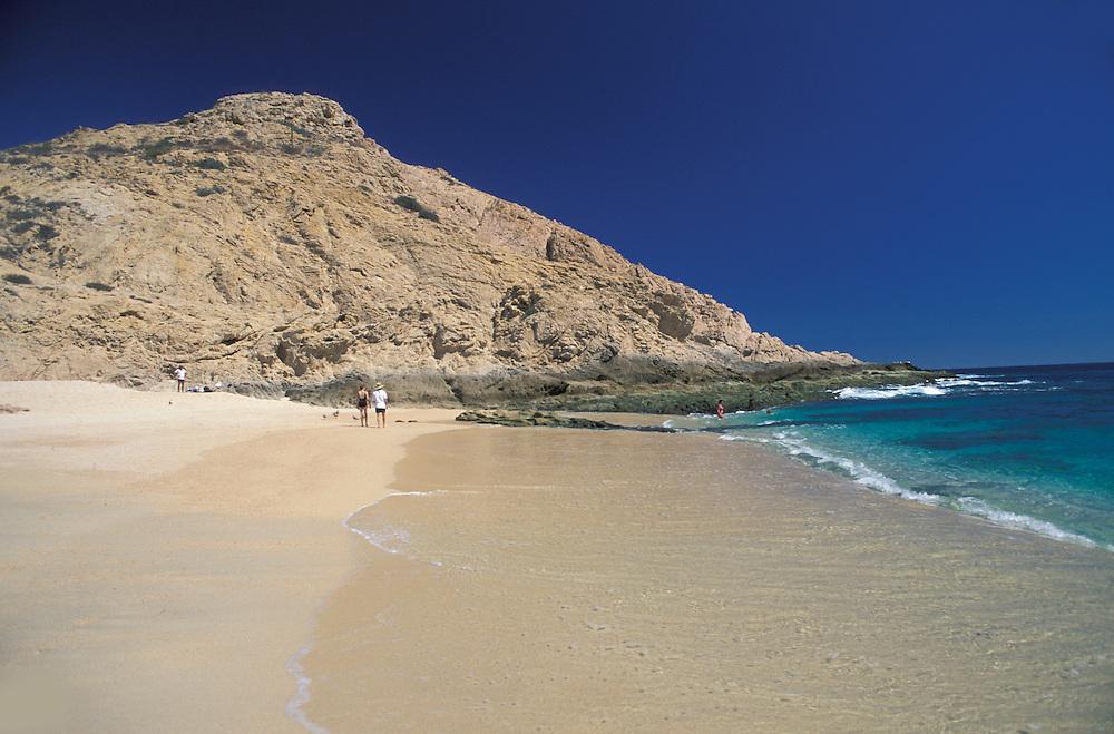 White sand beach,Santa Maria Bay,Los Cabos; Baja California; Mexico