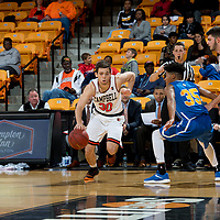 BUIES CREEK, NC - November 20th, 2017 - Campbell Camels and JWU at Gilbert Craig Gore Arena in Buies Creek, NC. Photo By Bennett Scarborough