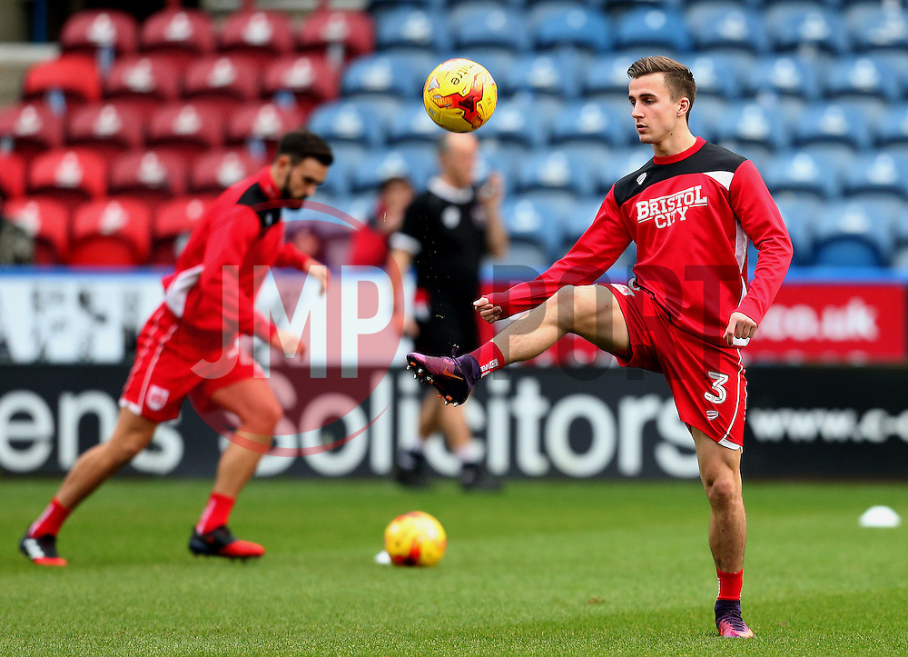 Joe Bryan of Bristol City warms up - Mandatory by-line: Matt McNulty/JMP - 10/12/2016 - FOOTBALL - The John Smith's Stadium - Huddersfield, England - Huddersfield Town v Bristol City - Sky Bet Championship