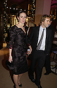 """EMILY MORTIMER AND ALLESANDRO NIVOLA.  The after show party following the UK Premiere of """"Match Point,"""" at Asprey, New Bond st. London.   December 18 2005 ,  ONE TIME USE ONLY - DO NOT ARCHIVE  © Copyright Photograph by Dafydd Jones 66 Stockwell Park Rd. London SW9 0DA Tel 020 7733 0108 www.dafjones.com"""