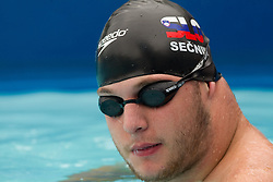Disabled Ales Secnik during 10th International Swimming Competition Veronika 2011, on July 16, 2011, in Pod skalco pool, Kamnik, Slovenia. (Photo by Vid Ponikvar / Sportida)