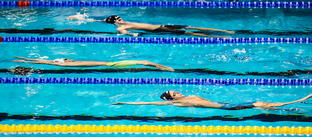 MENCARINI Luca ITA<br /> 100m Backstroke Men Heats<br /> Netanya, Israel, Wingate Institute<br /> LEN European Short Course Swimming Championships Dec. 2 - 6, 2015 Day02 Dec.03<br /> Nuoto Campionati Europei di nuoto in vasca corta<br /> Photo Giorgio Scala/Deepbluemedia/Insidefoto