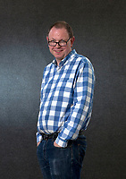 A portrait of at the Edinburgh International Book Festival 2012 in Charlotte Square Gardens<br /> <br /> Pic by Pako Mera