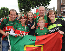 Mayo fan from Crossmolina to Croker for the final<br />