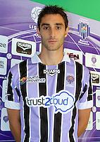 Fabien BARRILLON - 17.09.2013 - Photo Officielle Istres - Ligue 2<br /> Photo : Icon Sport