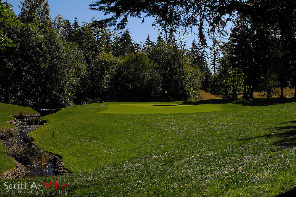 Aug. 2006; North Plains, Ore..; Hole No. 3 on the Witch Hollow Course at Pumpkin Ridge..                ©2006 Scott A. Miller