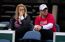 November 8, 2018 - Prague, Czech Republic - Kathy Rinaldi during practice ahead of the 2018 Fed Cup Final between the Czech Republic and the United States of America (Credit Image: © AFP7 via ZUMA Wire)