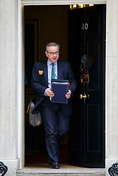 © Licensed to London News Pictures. 08/03/2016. London, UK. Justice Secretary MICHAEL GOVE attending a cabinet meeting in Downing Street on Tuesday, 8 March 2016. Photo credit: Tolga Akmen/LNP