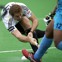 MELBOURNE - Champions Trophy men 2012<br /> Germany  v India 3-2<br /> foto: Tobias Matania scores 3-2<br /> FFU PRESS AGENCY COPYRIGHT FRANK UIJLENBROEK