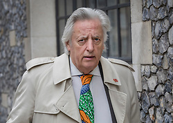 © Licensed to London News Pictures. 31/03/2017. London, UK. Michael Mansfield QC arrives at Church House to defend former Mayor of London Ken Livingstone on the second day of a Labour Party disciplinary hearing. Mr Livingstone has been accused of anti-Semitism after comments he made in April 2016 claiming that Hitler supported Zionism in the 1930's. Photo credit: Peter Macdiarmid/LNP