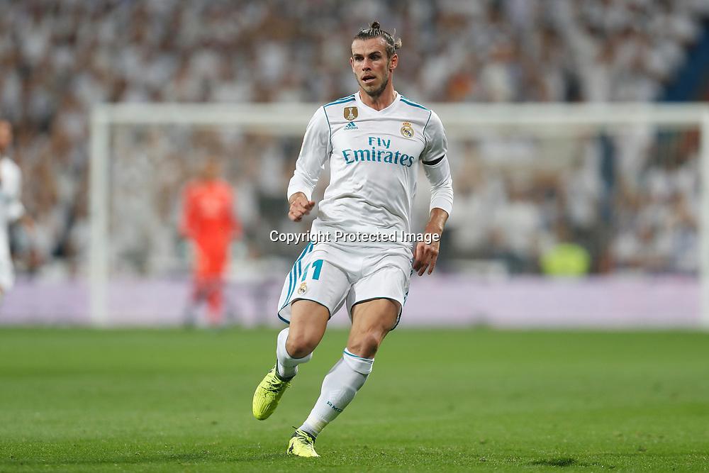 "Gareth Bale (Real), SEPTEMBER 20, 2017 - Football / Soccer : Spanish ""La Liga Santander"" match between Real Madrid CF 0-1 Real Betis at the Santiago Bernabeu Stadium in Madrid, Spain. (Photo by Mutsu Kawamori/AFLO) [3604]"