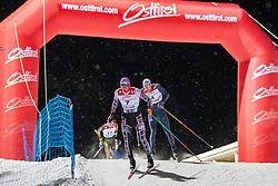 18.01.2019, Biathlonzentrum, Obertilliach, AUT, Dolomitenlauf, Dolomitensprint, im Bild v.l. Tobias Habenicht (AUT), Max Olex (GER) // during the sprint competition of the Dolomitenlauf at the Biathlonzentrum in Obertilliach, Austria on 2019/01/18. EXPA Pictures © 2019, PhotoCredit: EXPA/ Dominik Angerer