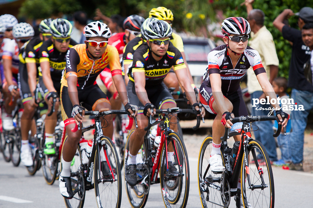 Le Tour de Langkawi 2015/ Stage 6 - Maran to Karak/ 96.6km/ TSG/ Columbia/ Goh Choon Huat