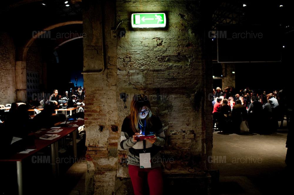 Leopolda 5, Firenze 24 ottobre 2014 . Daniele Stefanini /  OneShot