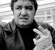 On set of     ' Quite Ugly One Morning ''..filmed in Edinburgh...Pics Alan Peebles .