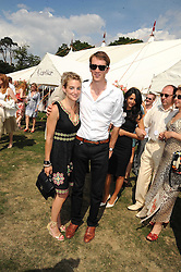 OTIS FERRY and FRANCESCA NEMMO at the Cartier International Polo at Guards Polo Club, Windsor Great Park on 27th July 2008.<br /> <br /> NON EXCLUSIVE - WORLD RIGHTS