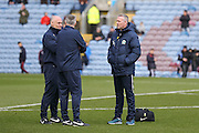Blackburn Rovers Manager Paul Lambert in a conference during the Sky Bet Championship match between Burnley and Blackburn Rovers at Turf Moor, Burnley, England on 5 March 2016. Photo by Simon Davies.