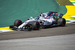 November 10, 2017 - Sao Paulo, Sao Paulo, Brazil - Nov, 2017 - Sao Paulo, Sao Paulo, Brazil - LANCE STROLL/Williams Martini. Free practice this Friday (10), for the Brazilian Grand Prix of Formula One that takes place next Sunday at the Autodromo de Interlagos in São Paulo. (Credit Image: © Marcelo Chello via ZUMA Wire)