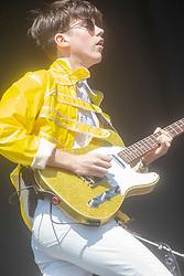 Declan McKenna on the main stage, Sunday 1st July at TRNSMT 2018.