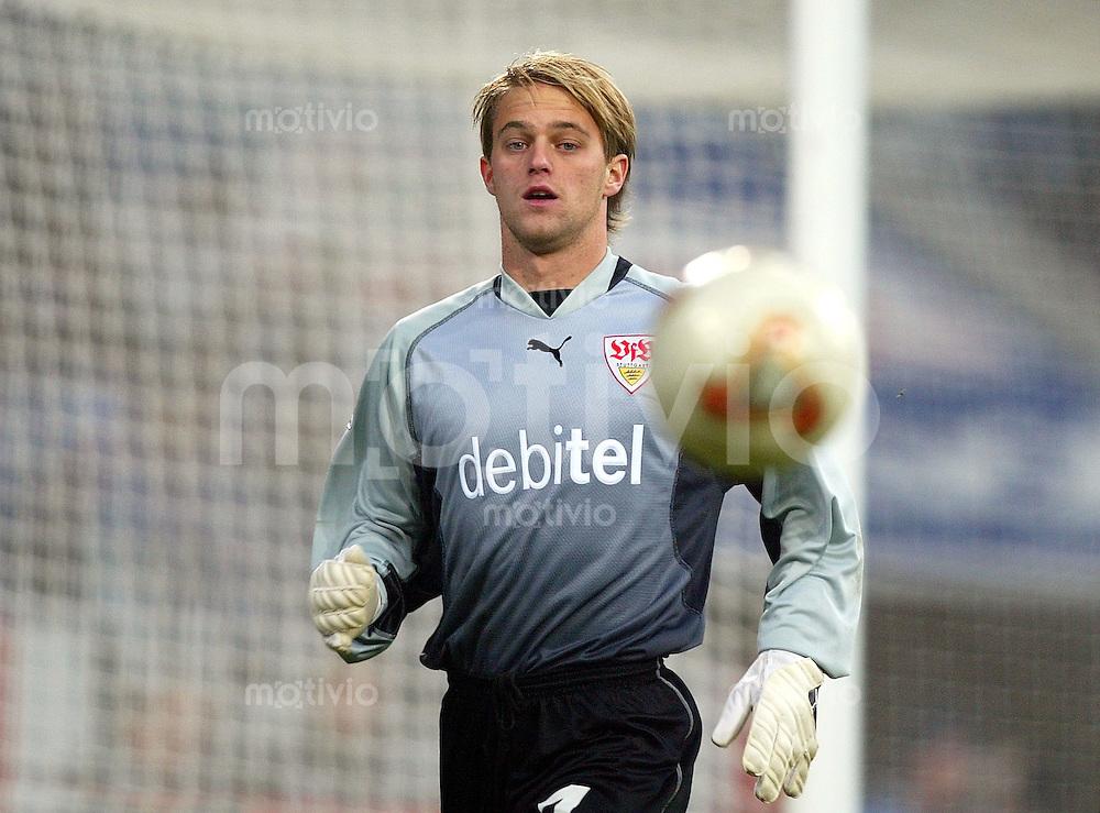 Fussball / 1. Bundesliga Saison 2002/2003 Torwart Timo HILDEBRAND VFB Stuttgart