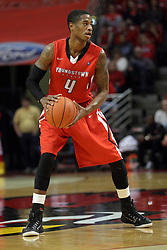 29 November 2014:  Shawn Amiker during an NCAA men's basketball game between the Youngstown State Penguins and the Illinois State Redbirds  in Redbird Arena, Normal IL.