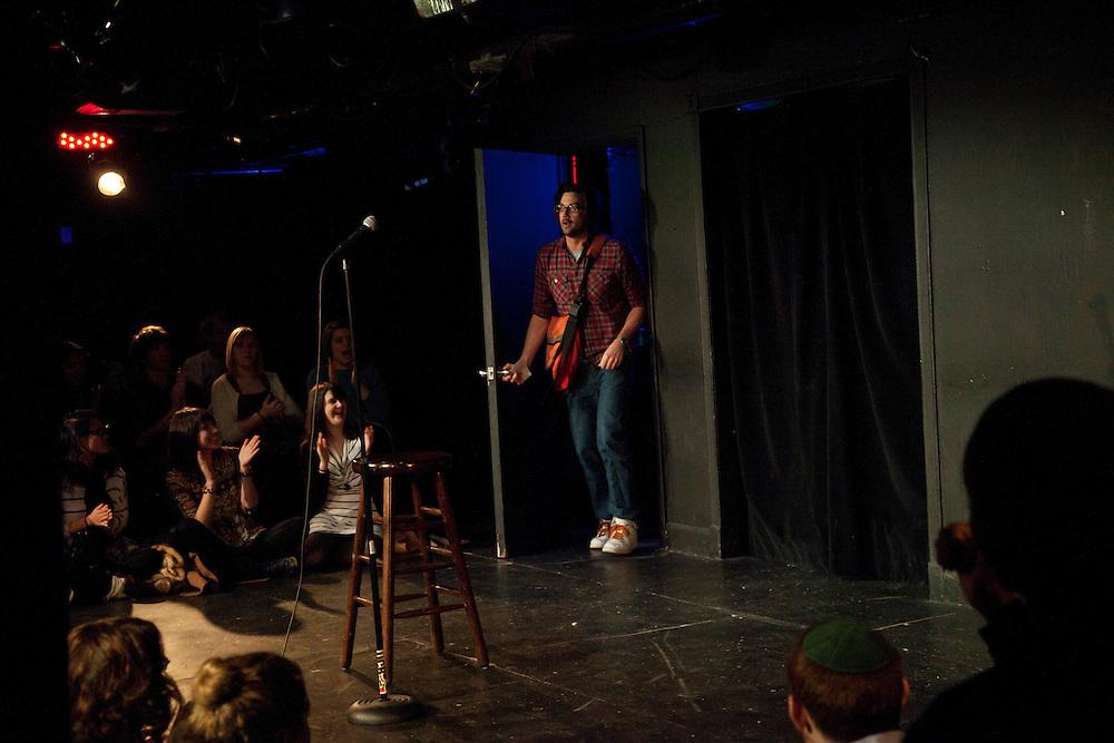 Whiplash at UCB Theater, New York - Leo Allen - March 28, 2011
